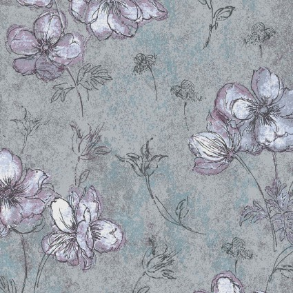 Naturescapes: Floral Gray