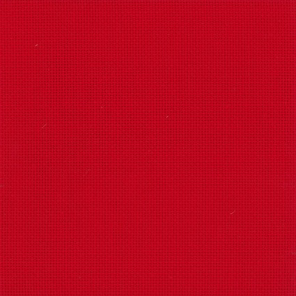 DUFTIN Aida Cloth 54 (14 ct) 40x100 cm - Red