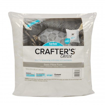 Crafter's Choice® Pillow Form - 18 Square