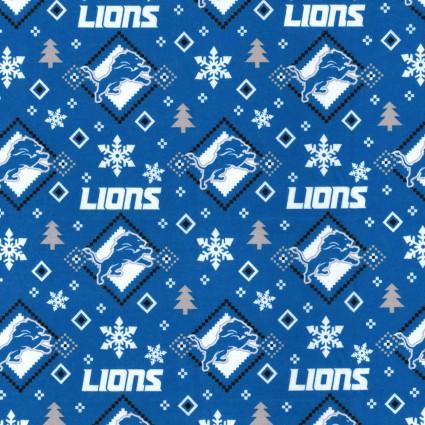 Flannel NFL - Detroit