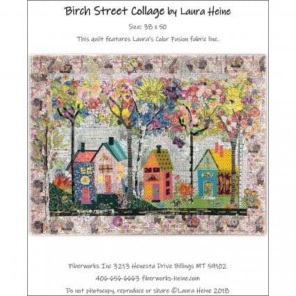 Birch Street Collage Pattern