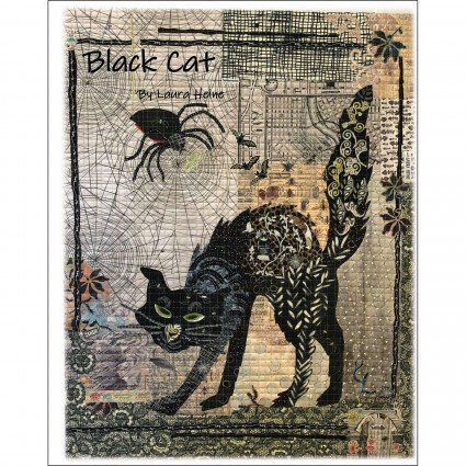 BLACK CAT - PATTERN - FIBERWORKS