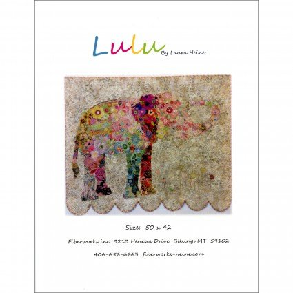 Lulu Elephant Kit includes Pattern and Patternease