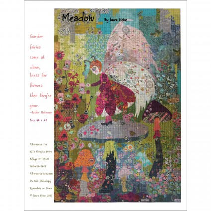 Pattern - Meadow Fairy Collage