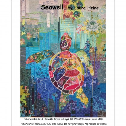 Pattern - Seawell Sea Turtle - Collage