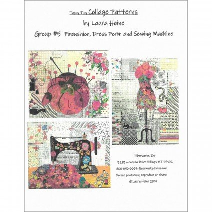 Teeny Tiny Collage Pattern Group #5