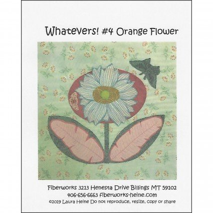 Whatevers! #4 Orange Flower