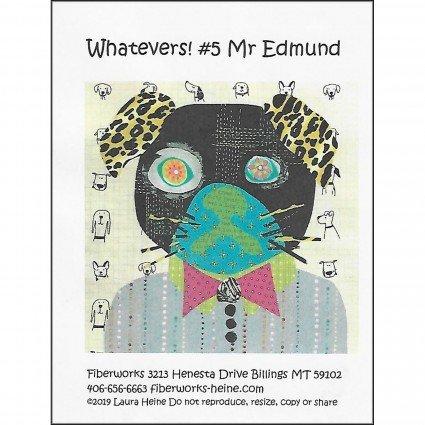 Whatevers - #5 Mr Edmund - Collage Kit & Pattern