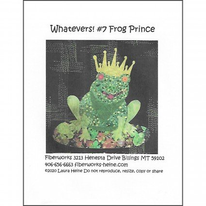 Whatevers - #7 Frog Prince - Collage Kit & Pattern