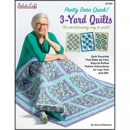 3-Yard Quilts-Pretty Darn Quick! - Fabric Cafe - 031940