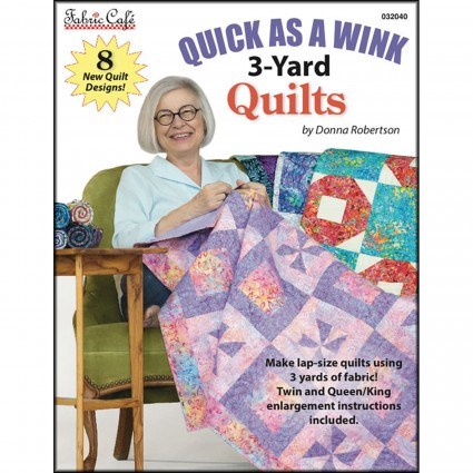 Quick As A Wink 3 Yard Quilts Softcover