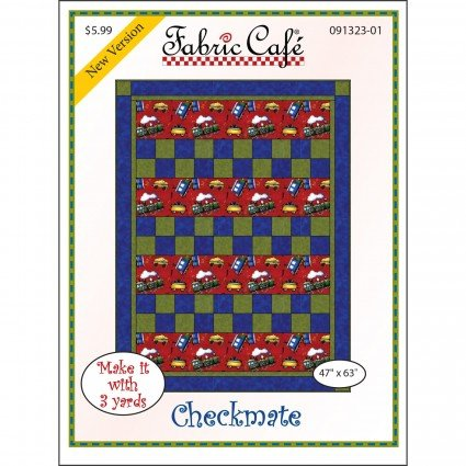 3-Yard Quilt Pattern - Checkmate