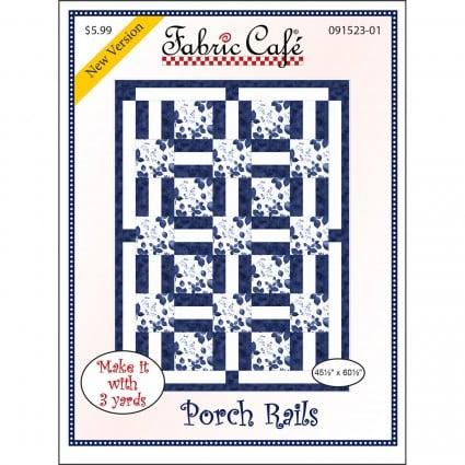 3-Yard Quilt Pattern - Porch Rails