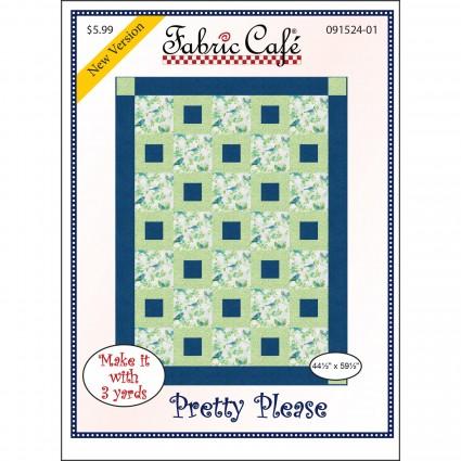 3-Yard Quilt Pattern - Pretty Please