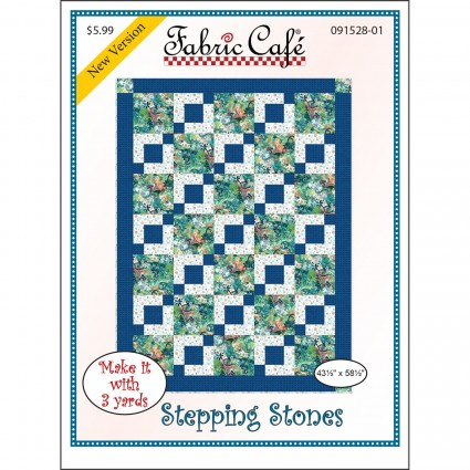 3-Yard Quilt Pattern - Stepping Stones