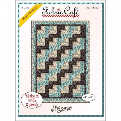 3-Yard Quilt Pattern - Jigsaw