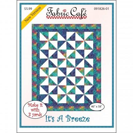 3-Yard Quilt Pattern - It's a Breeze