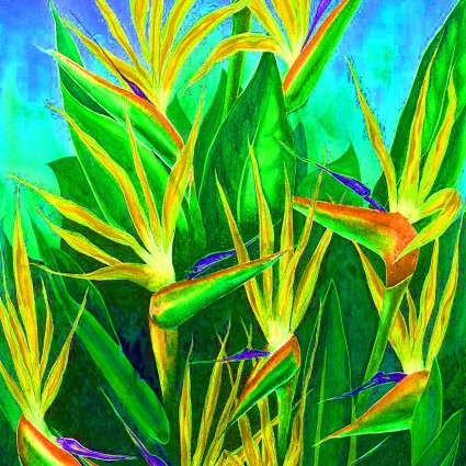 Frond If You Like Pina Coladas Bird of Paradise Shine