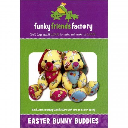 Funky Friends Pattern Easter Bunny Buddies
