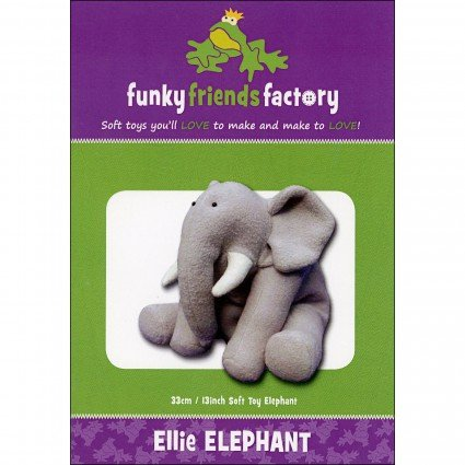 Ellie Elephant 13 Stuffed Toy Pattern