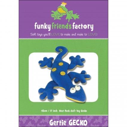 Gertie gecko - pattern