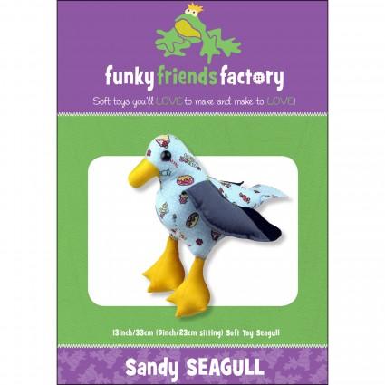 Funky Friends Pattern Sandy Seagull