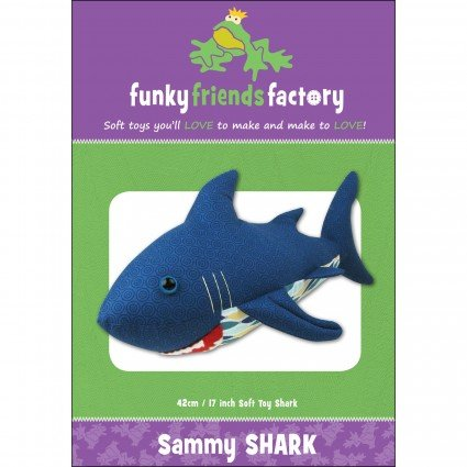 Sammy Shark Stuffed Toy Pattern