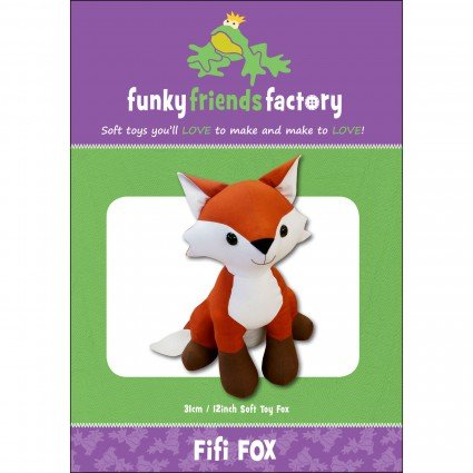 Fifi Fox 12 Stuffed Toy Pattern