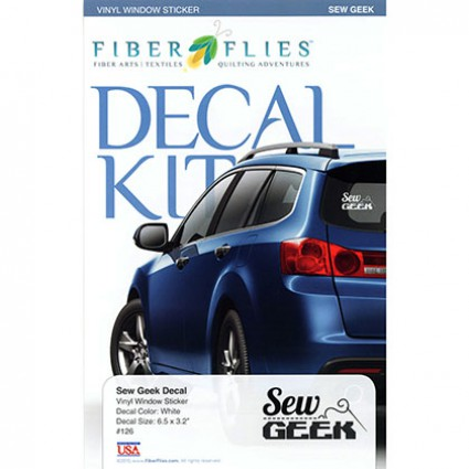 Decal Kit - Sew Geek