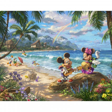 DT-Disney Dreams ~ Hawaii DS-2049-9C-1 (35.5 x 44)