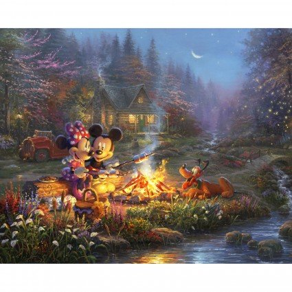 Disney Dreams Sweatheart Campfire