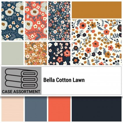 FQB Bella Cotton Lawn (Birch Fabrics)