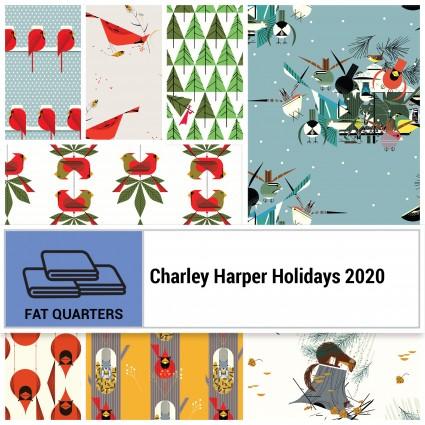 Charley Harper Holidays 2020 FQ Bundle