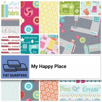 My Happy Place 1/3 yd Bundles
