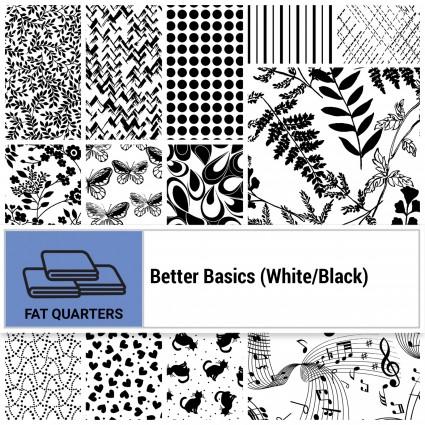 Better Basics White & Black FQ Bundle