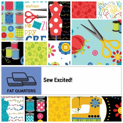 Sew Excited Fat QTR  Box
