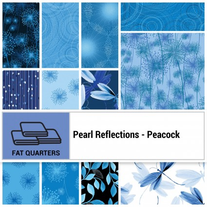 Pearl Reflections -  Peacock FQ Bundle