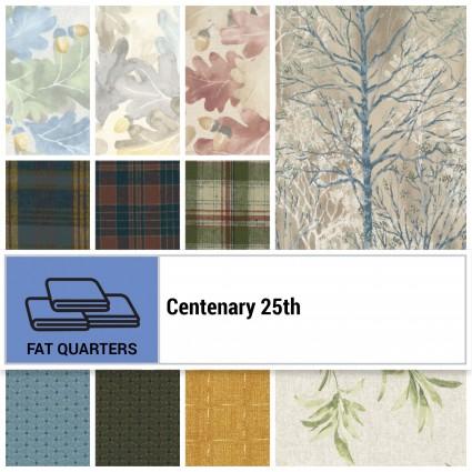 Centenary 25th Fat Quarter Bundle