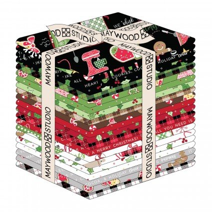 KimberBell Christmas Fabric- Jingle & Whisk - Fat Quarter Bundle