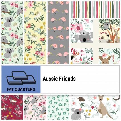 Aussie Friends Fat Quarters