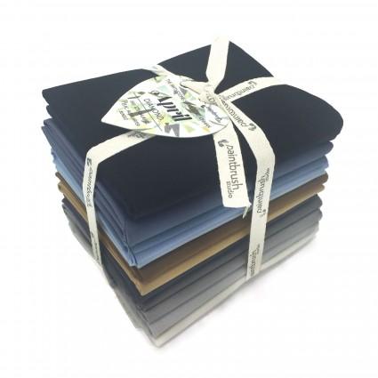 Fabric FQ Bundle Birthstones: April (Diamond)
