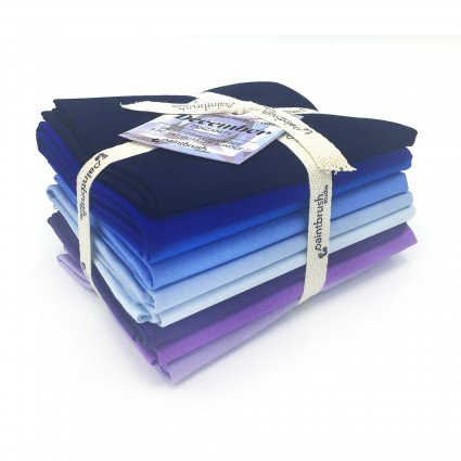 Fabric FQ Bundle Birthstones: December (Tanzanite)