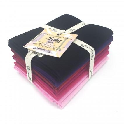 Fabric FQ Bundle Birthstones: July (Ruby)