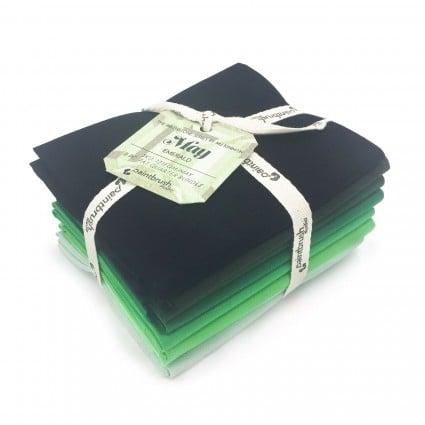 Fabric FQ Bundle Birthstones: May (Emerald)