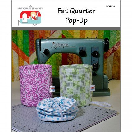Fat quarter pop-up - pattern