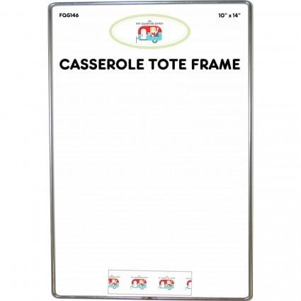 Casserole Wire Tote Frame - 10inX14in - FQG146