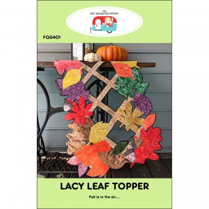 FQG-401-Lacy Leaf Runner