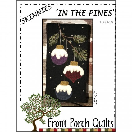 In the Pines Skinnies Wool Applique Kit