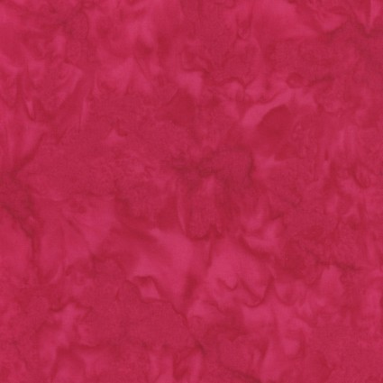Java Batiks - Cranberry