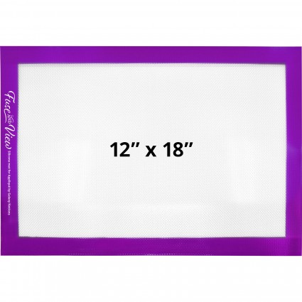 "Galaxy Notions Silicone Appli-Fuse /& View Mat 12/""x 18/"" Clear//Purple GANFAV1218"